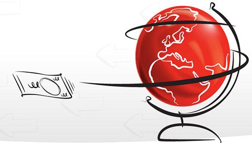 Envie dinheiro para pessoas no exterior de forma muito rápida